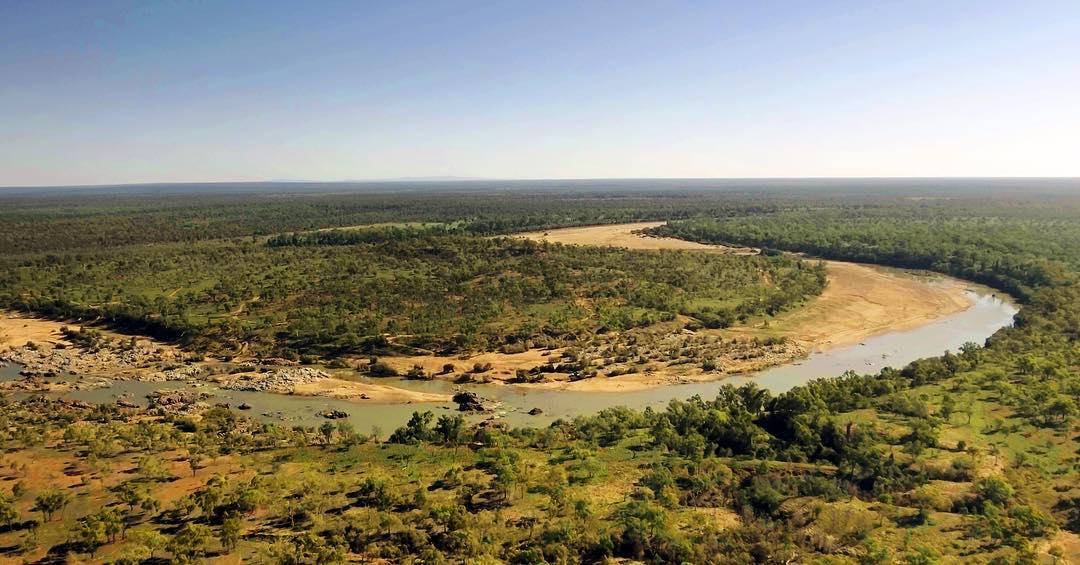 Big Bend, Burdekin River, Queensland, Australia