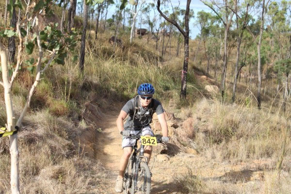 Mountain bike race Townsville