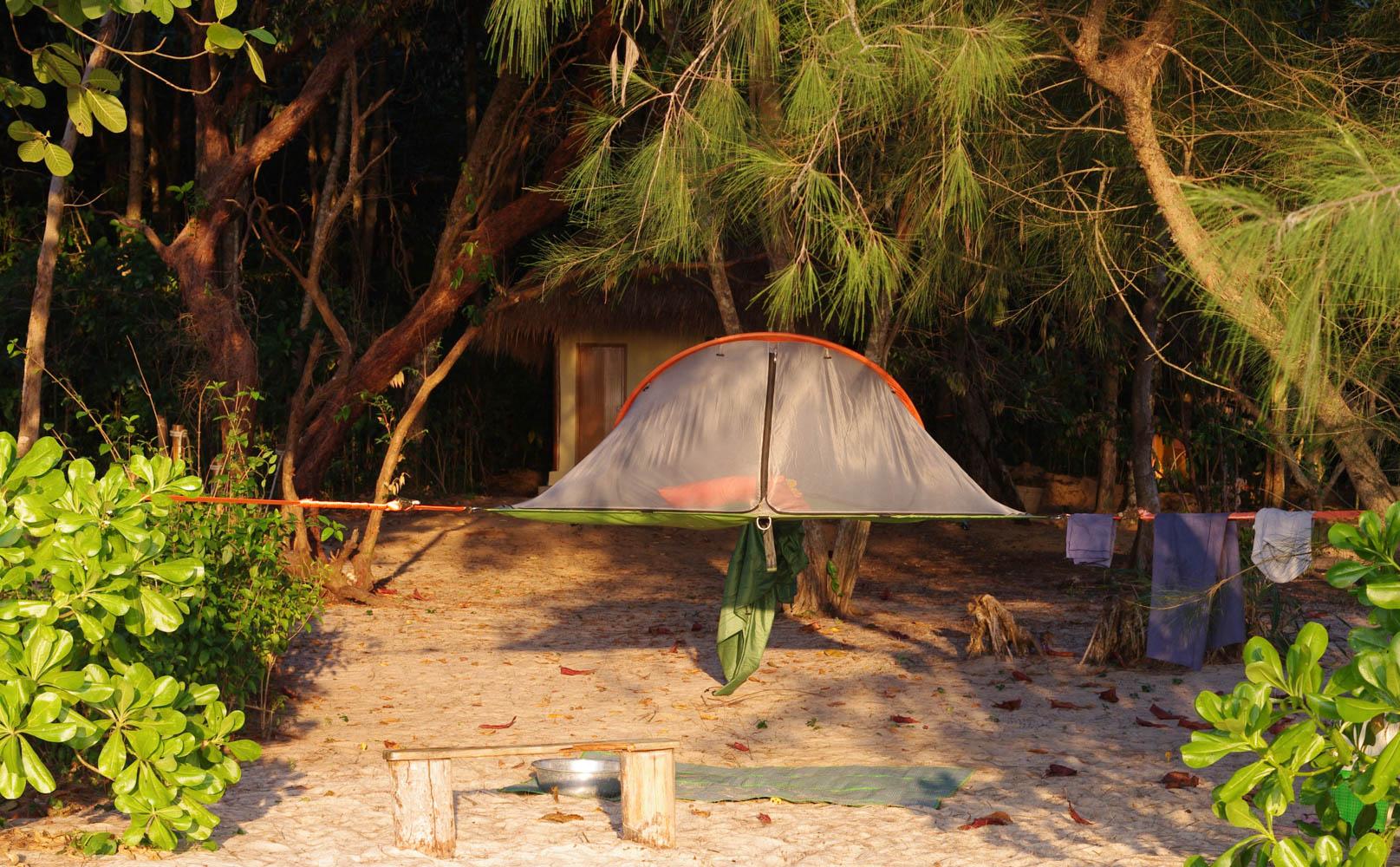 Koh Rong Samloem Tree Tent
