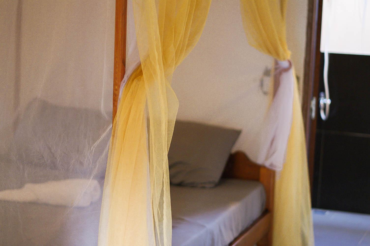 Happa Garden Resort bedding