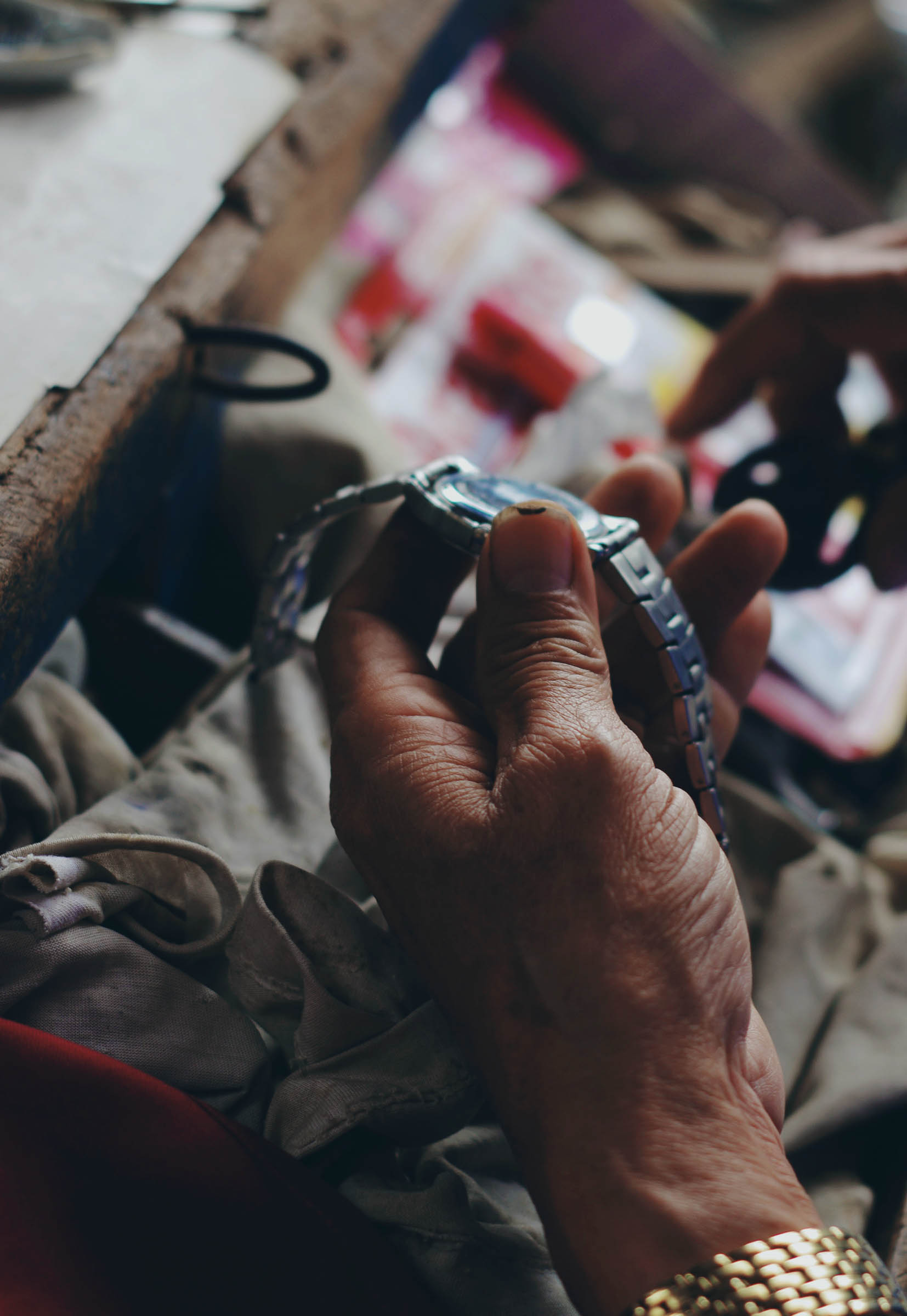 Watch repairs