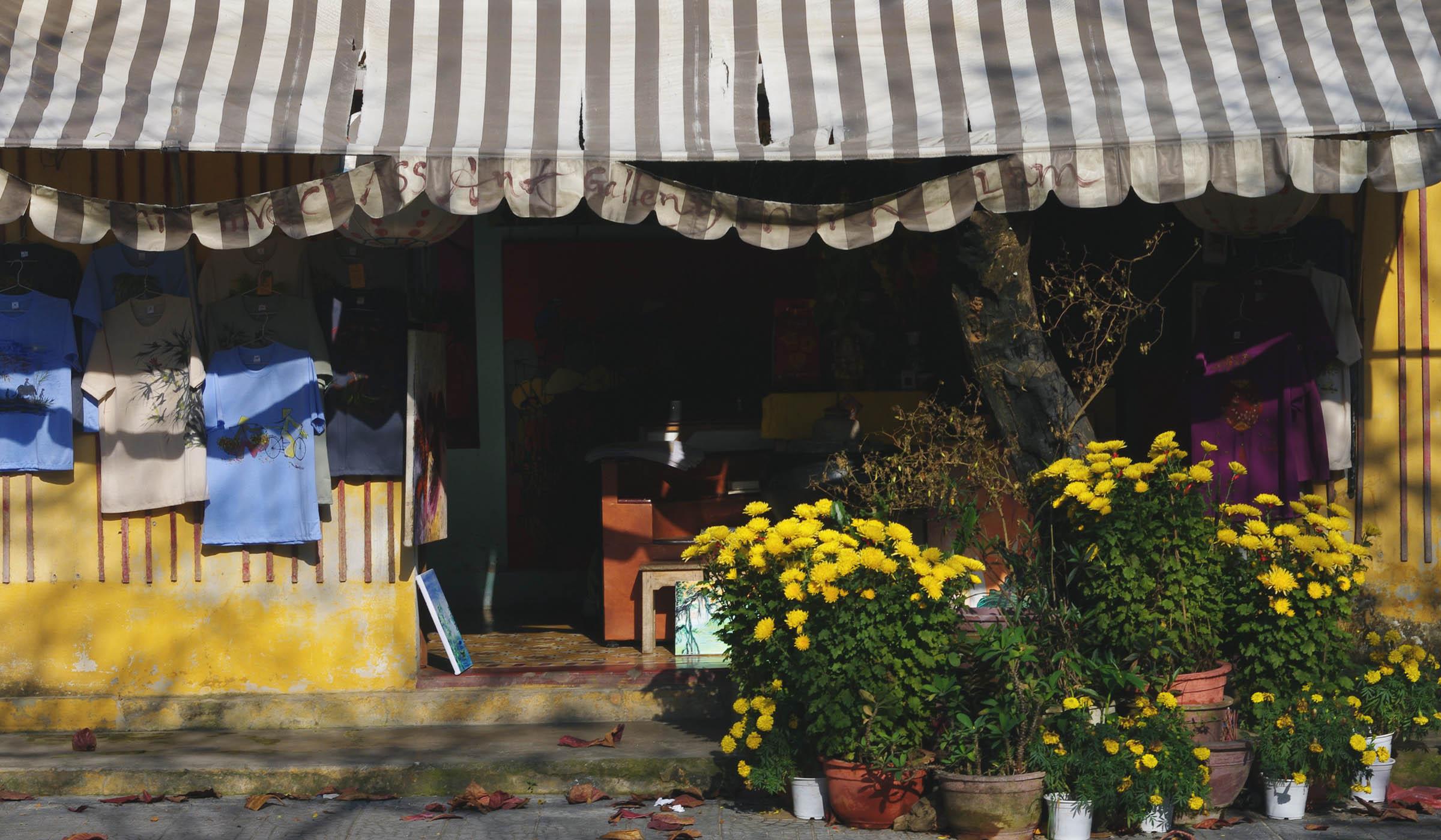 Hoi An shop front