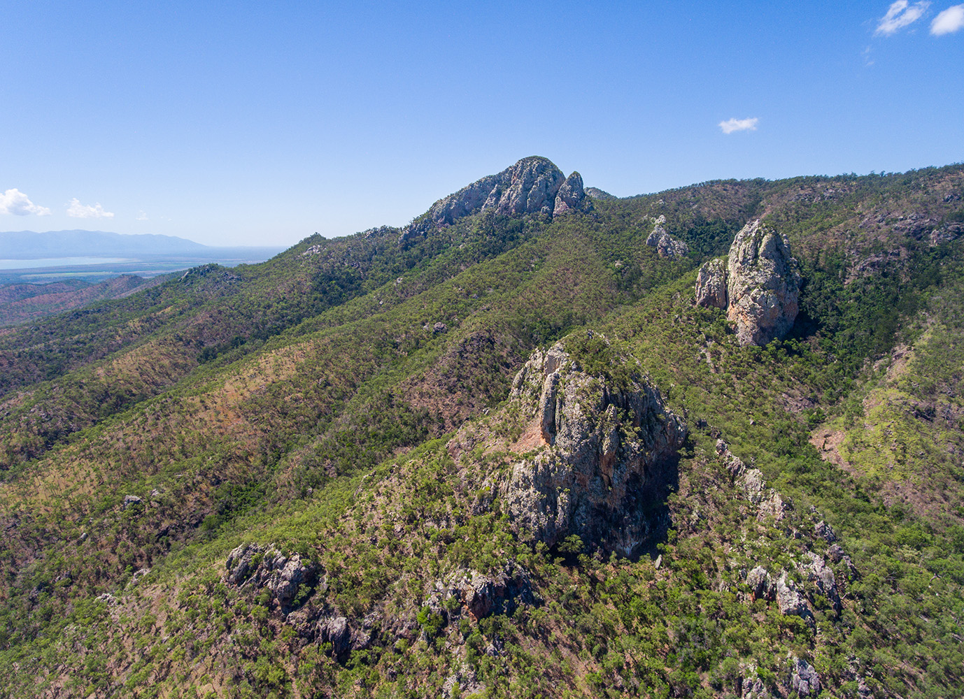 Frederick Peak pinnacles