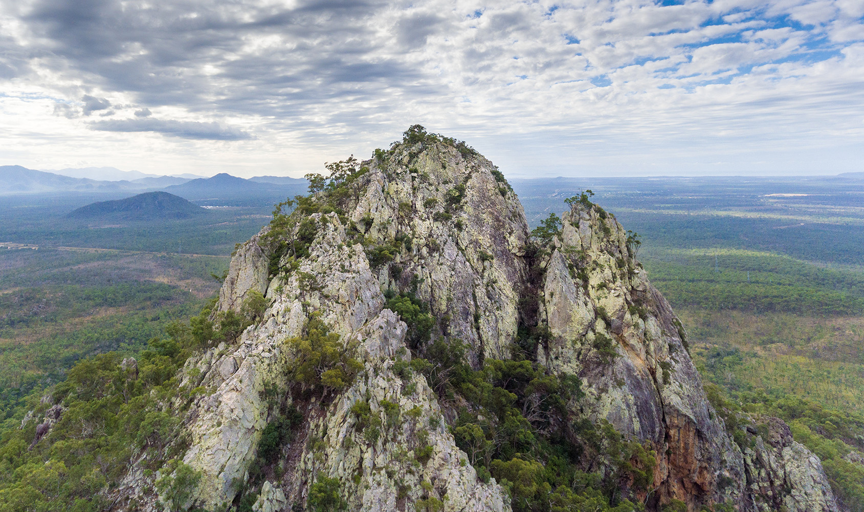 North Sentinel near Frederick Peak, Townsville