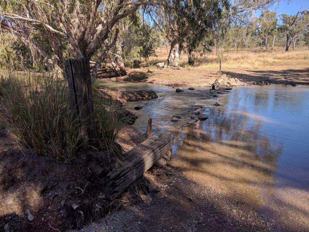 Creek crossing at Valley of Lagoons