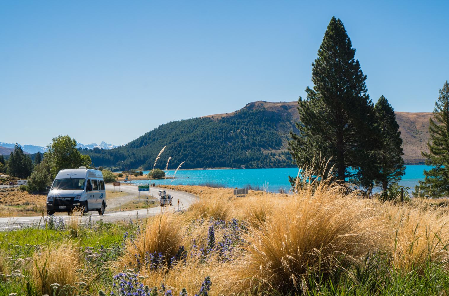 Lake Tekapo Road