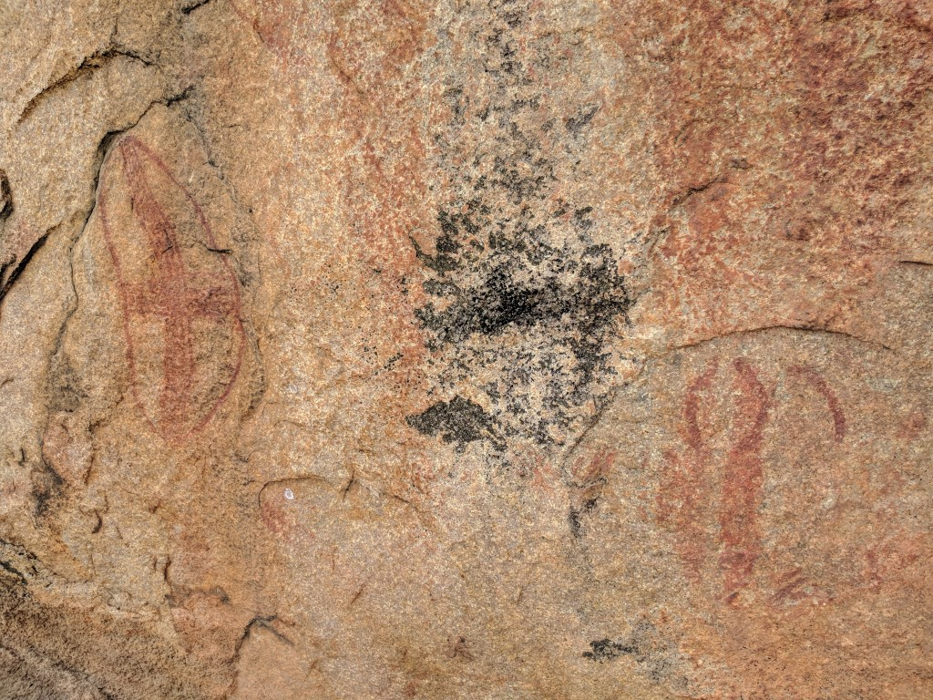 Townsville Aboriginal Rock Art, Bowling Green Bay National Park, North Queensland