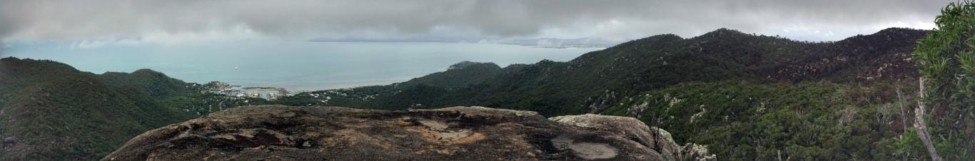 Mt Cook Pinnacles panorama