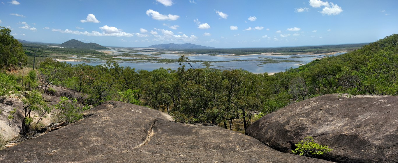 View from Mt Storth, Townsville