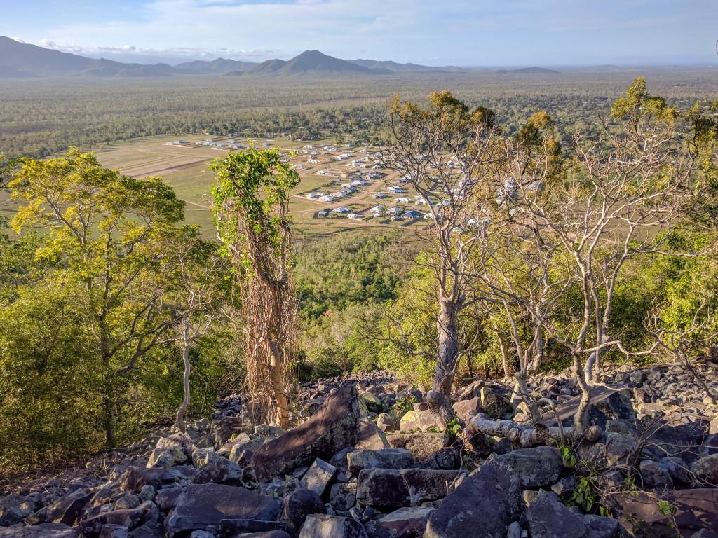 Mt Margaret boulder field