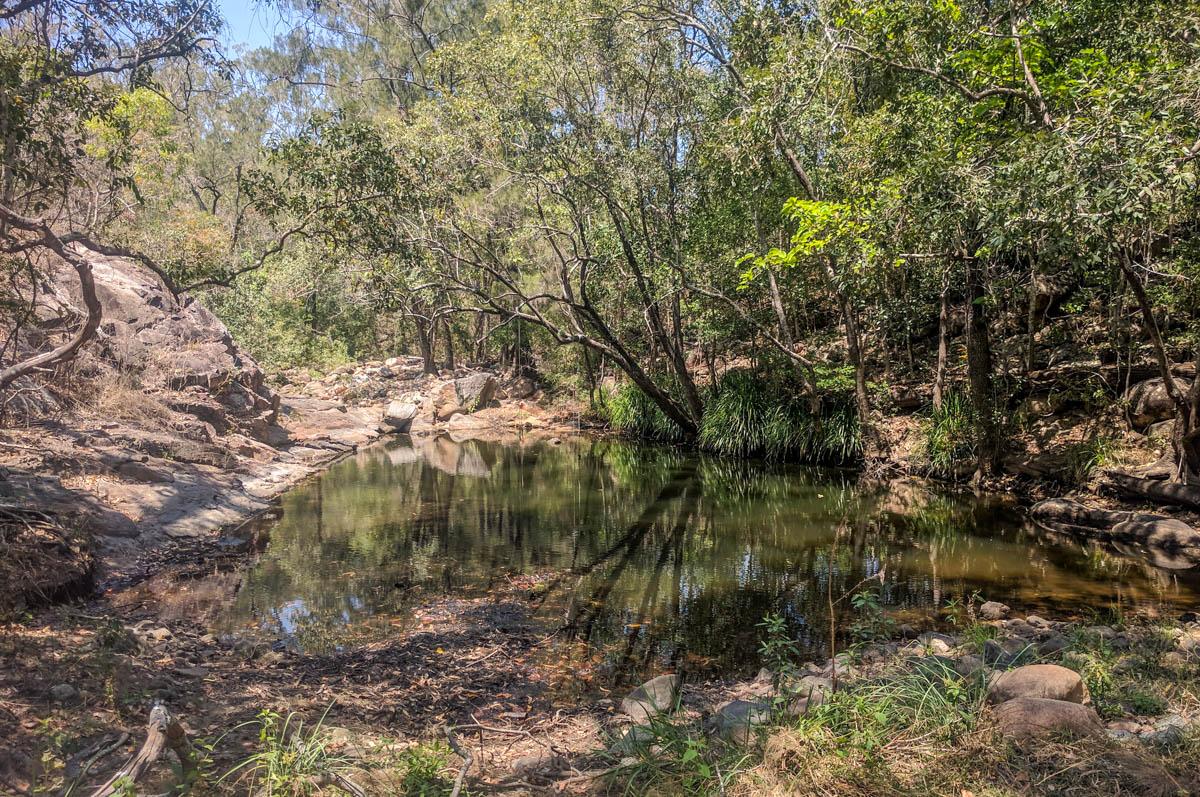 Stoney Creek swimming hole