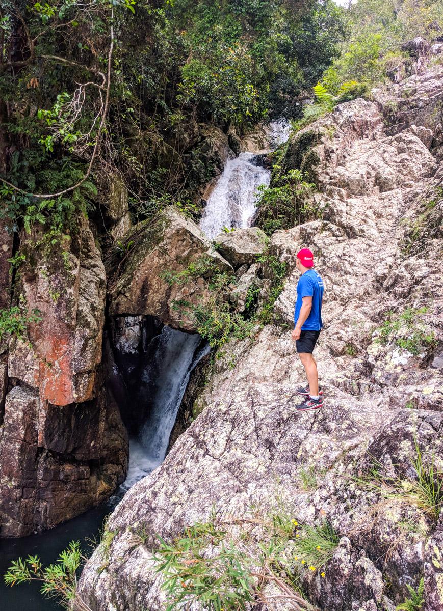 Crystal Ck waterfall