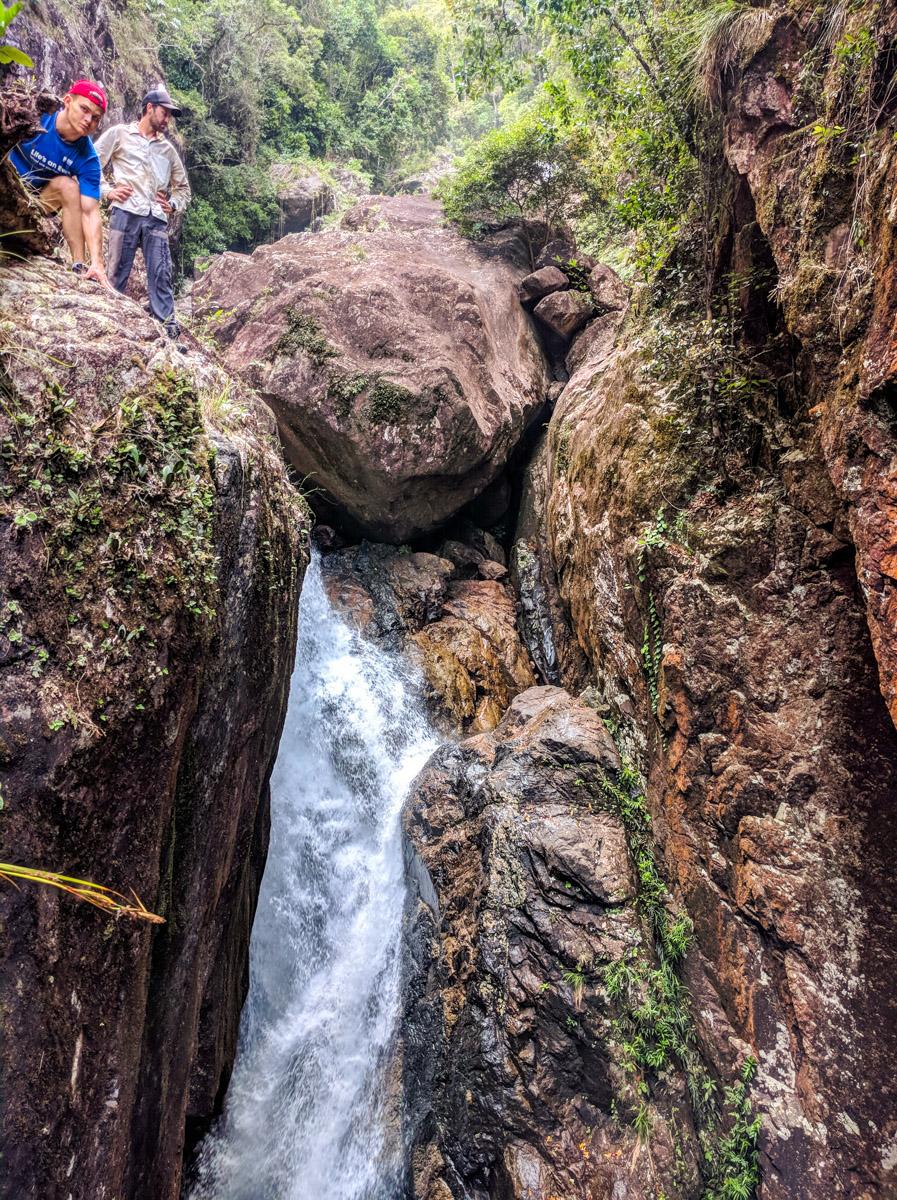 Crystal Creek gorge