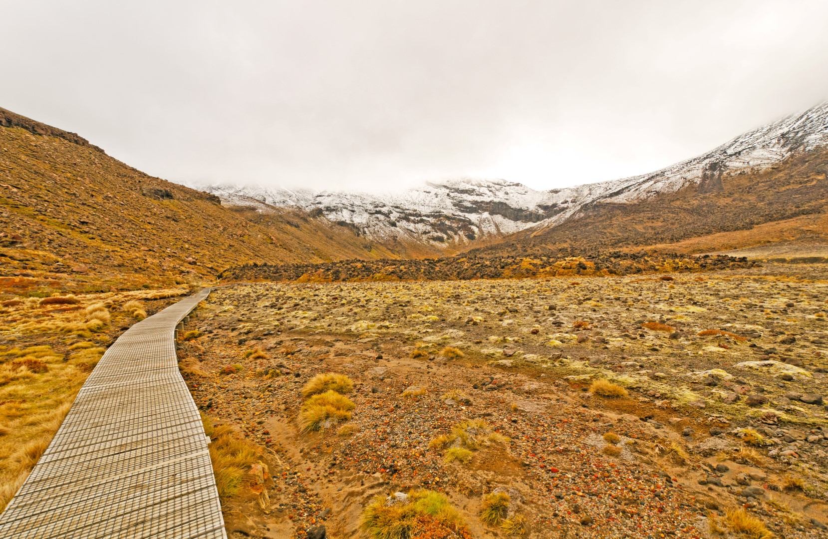 Tongariro Crossing Trail Path
