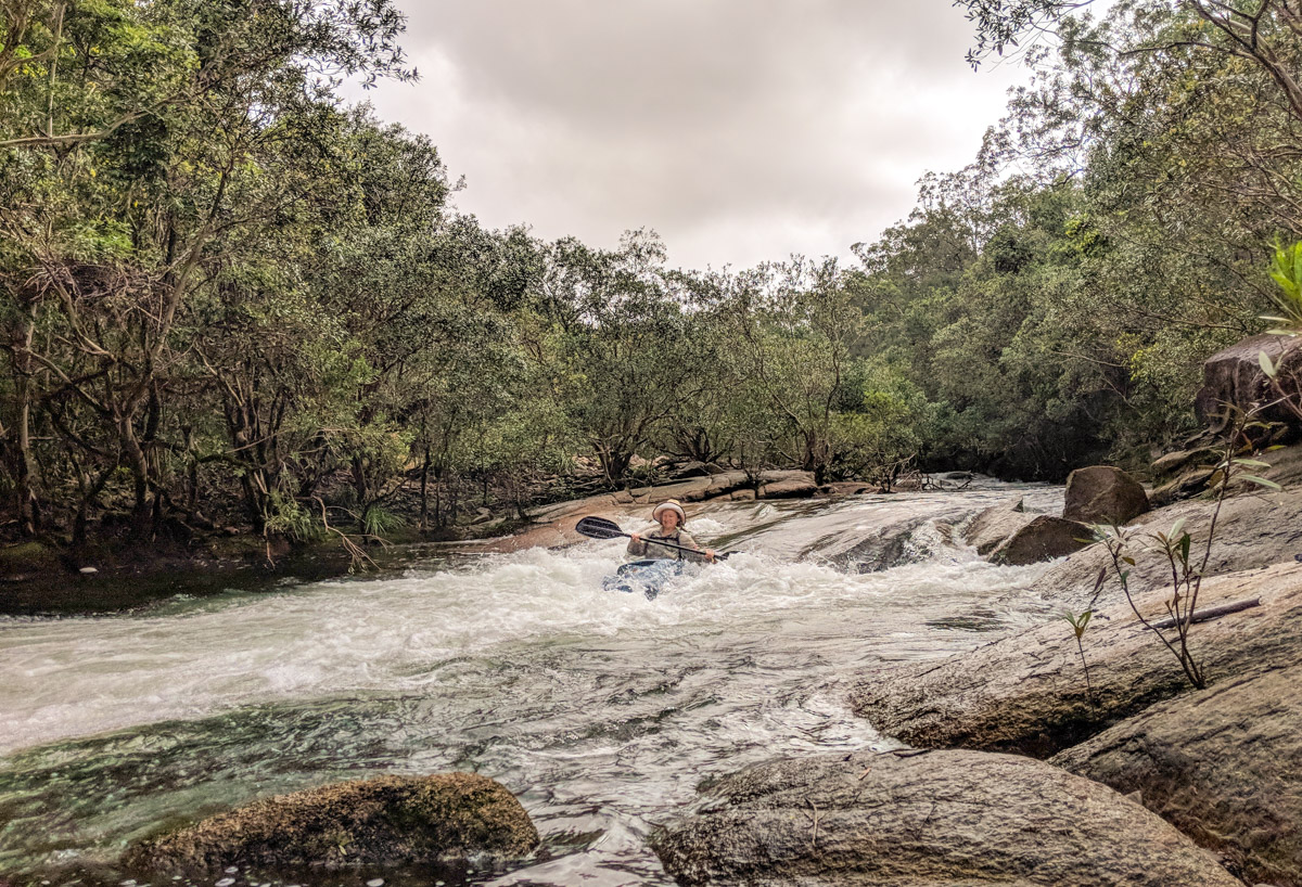 Broadwater Creek rapids
