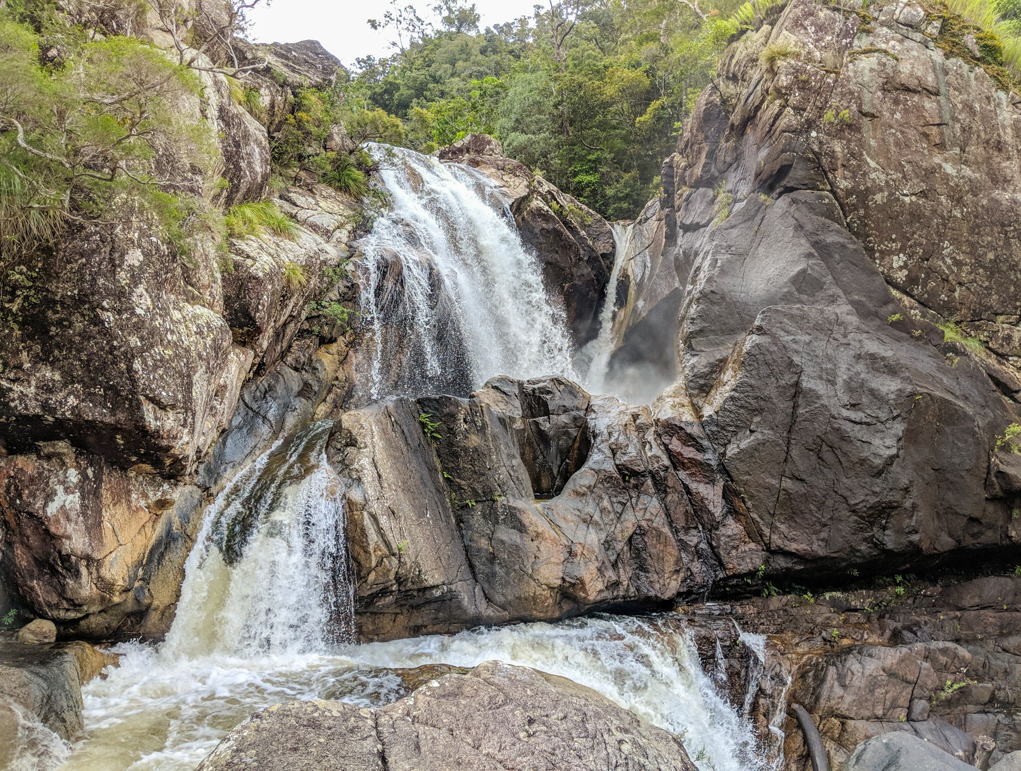 Crystal Creek waterfalls