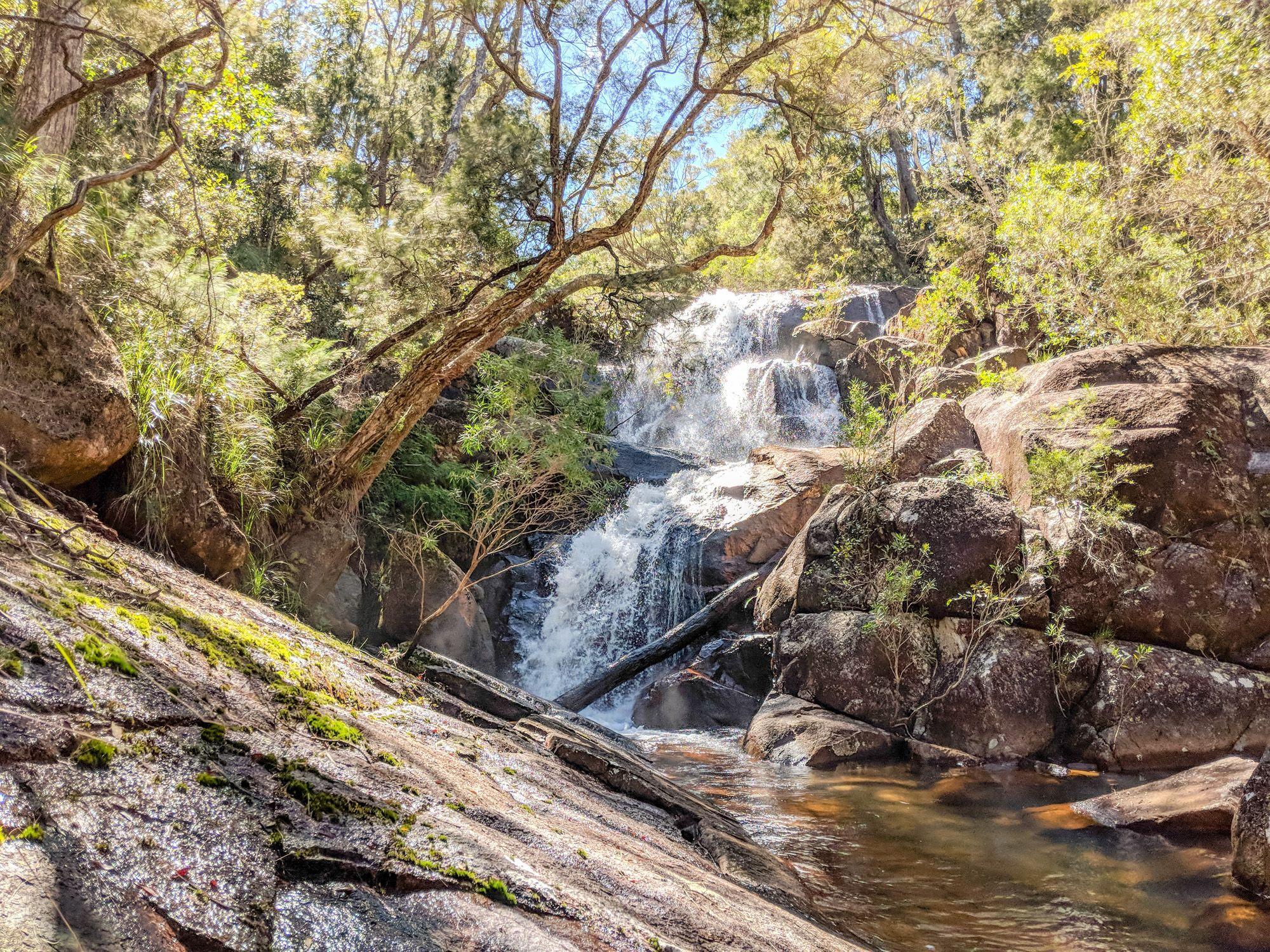 benham falls paluma range national park