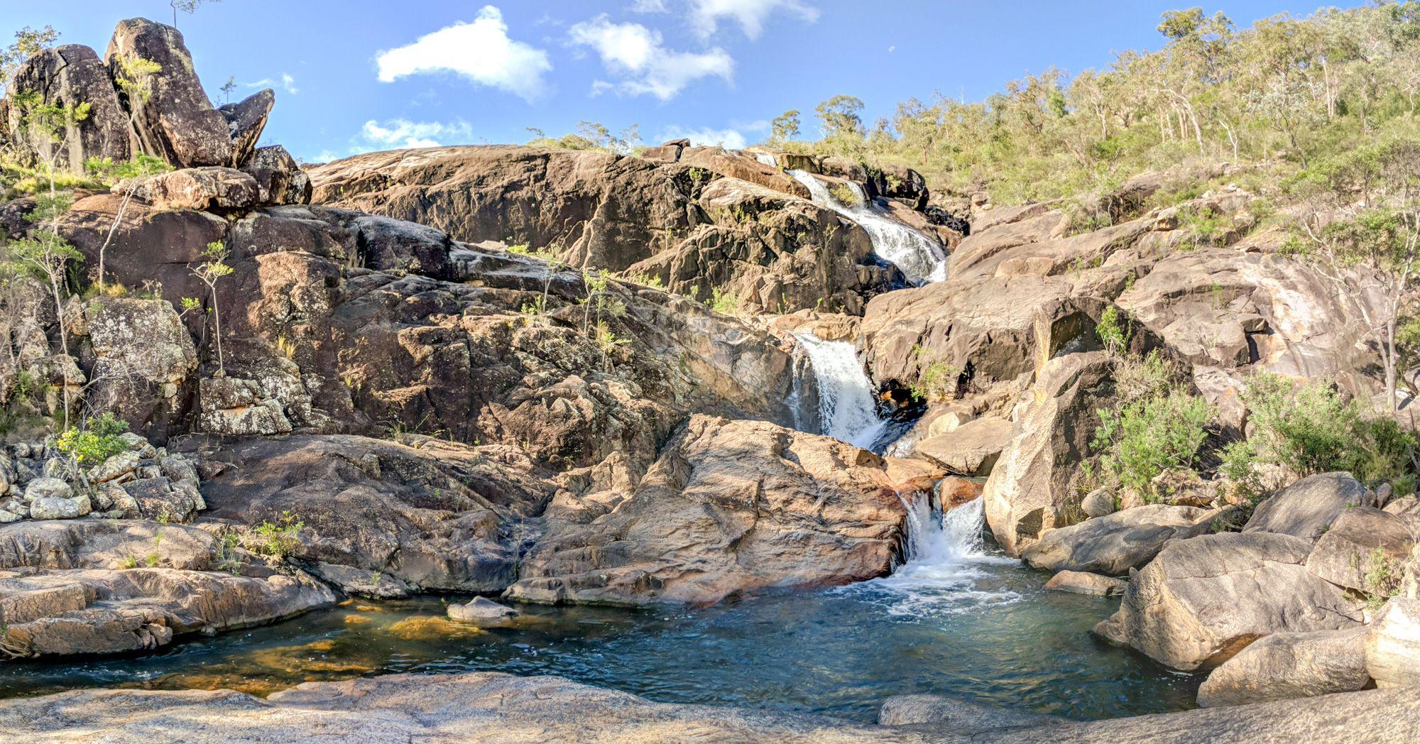 hermit falls hidden valley