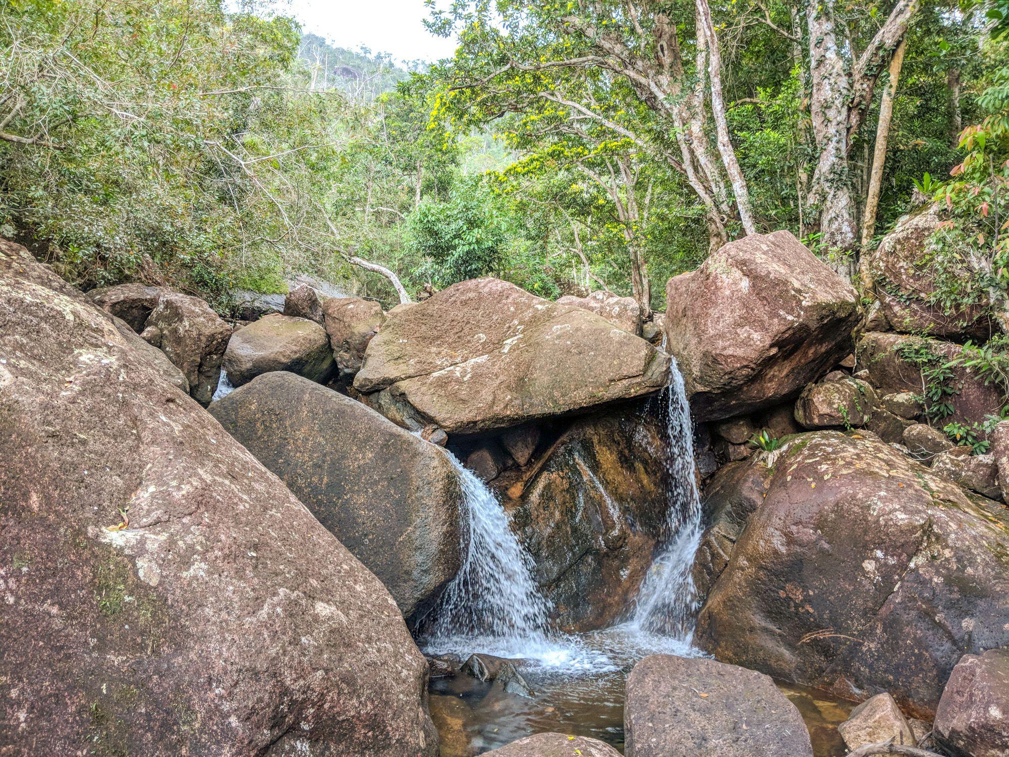 mt straloch creek small falls