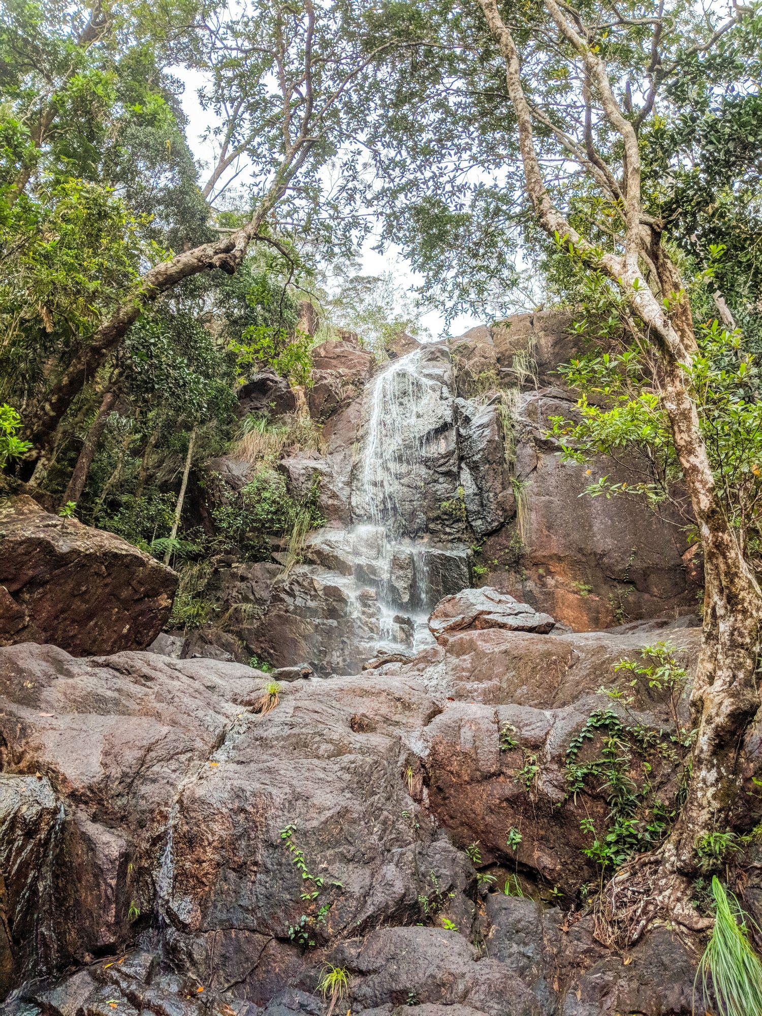 mt straloch waterfall