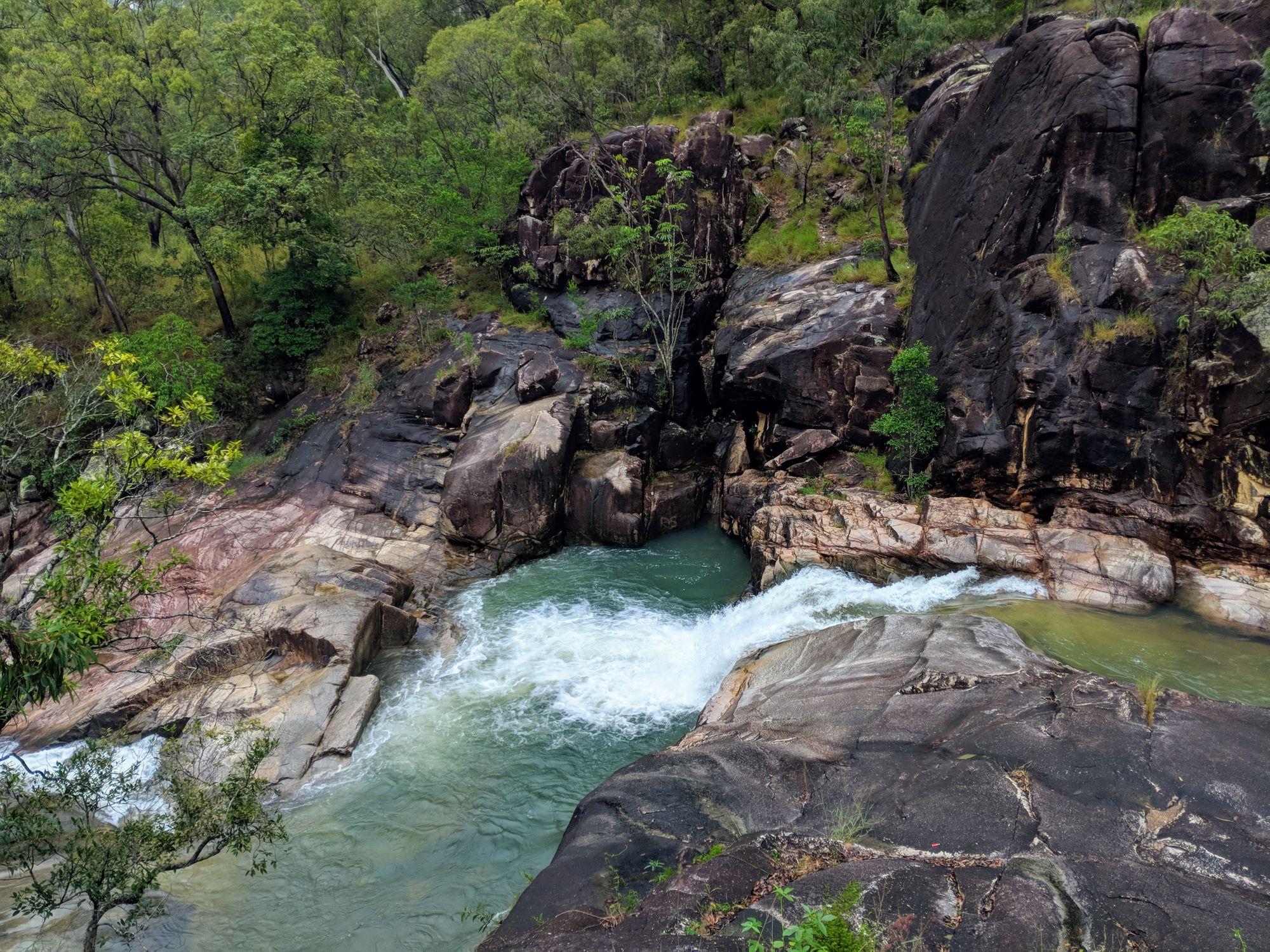 nolans gully rockslides crystal creek