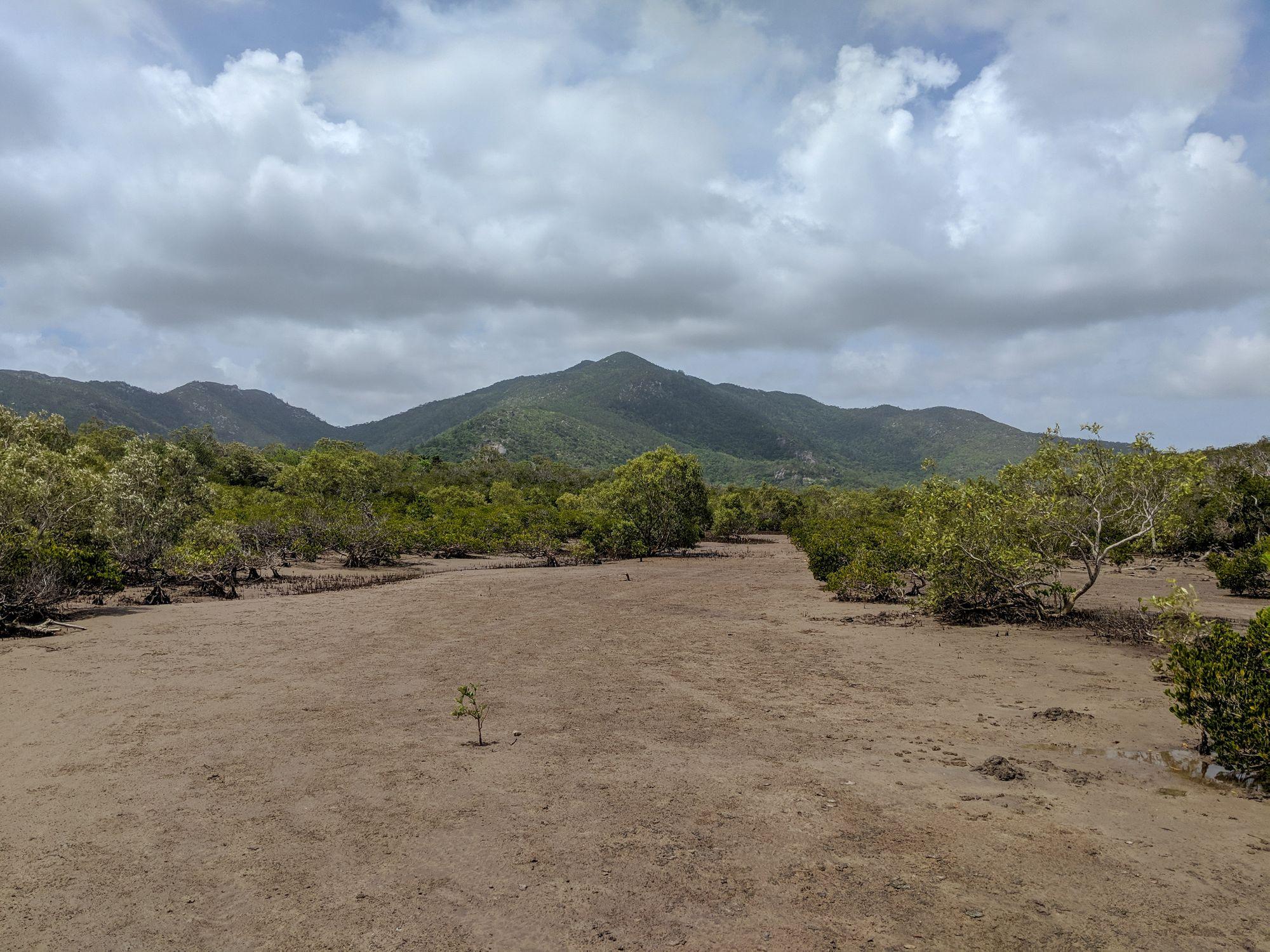Chunda Bay mud flats