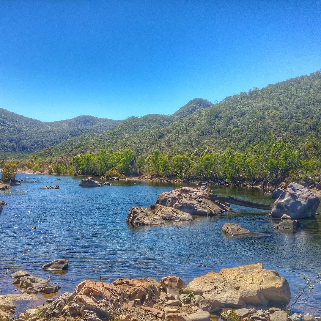 Keelbottom Creek Hervey Range
