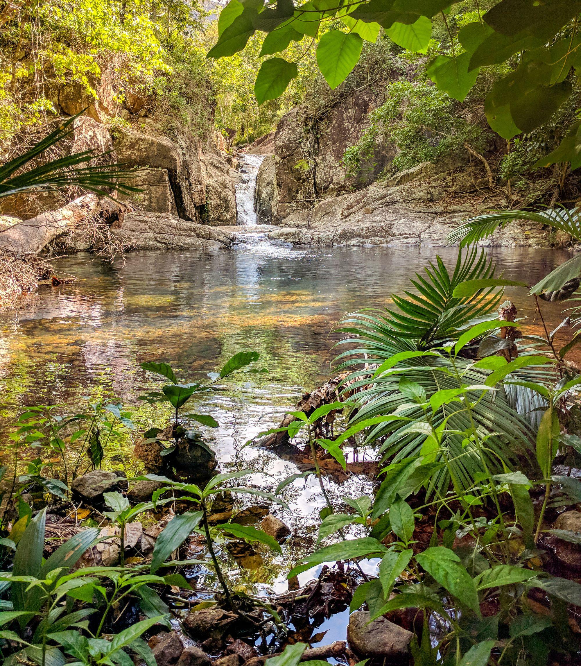 below gorge falls halifax