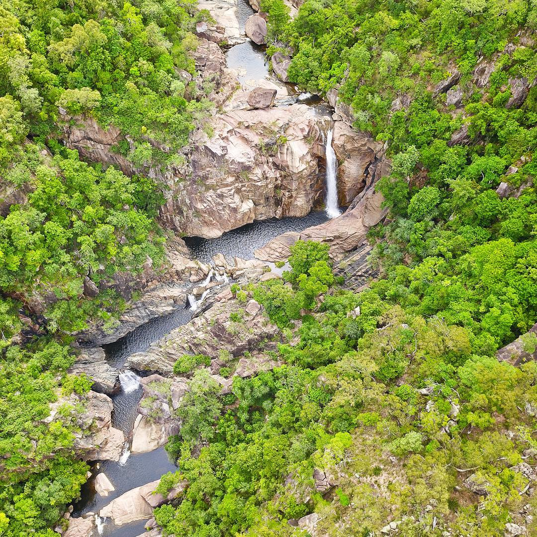 jourama fall waterview creek swimming holes waterfalls