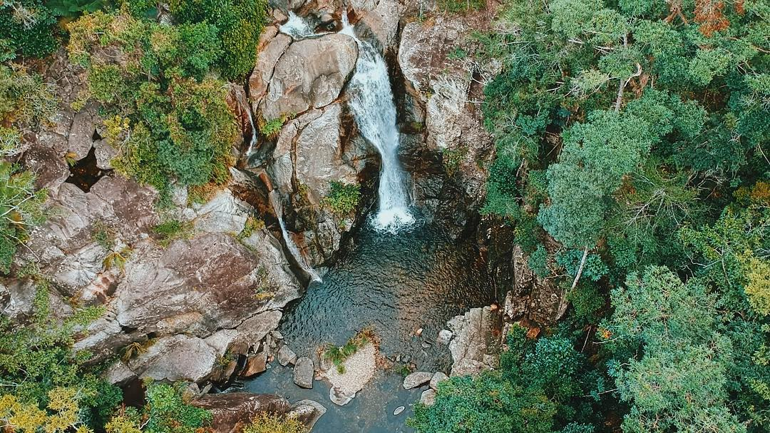 upper little crystal creek falls