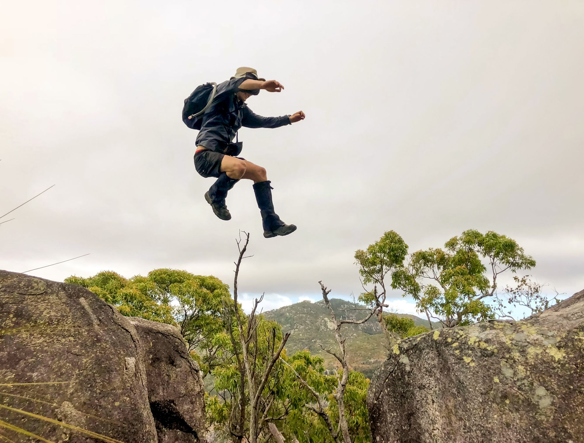 Luen Warneke Rock Jump