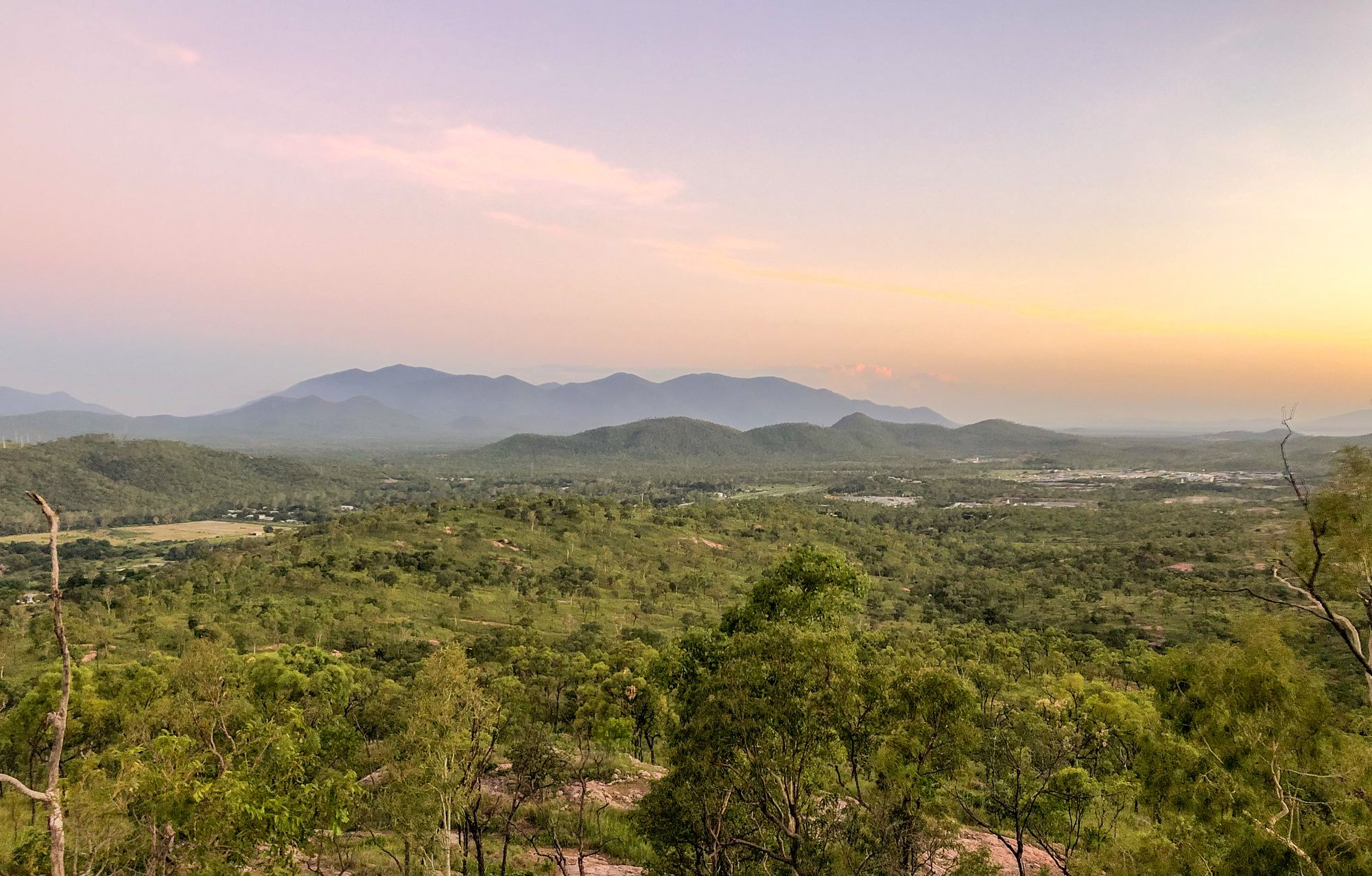Wulguru Hills sunset