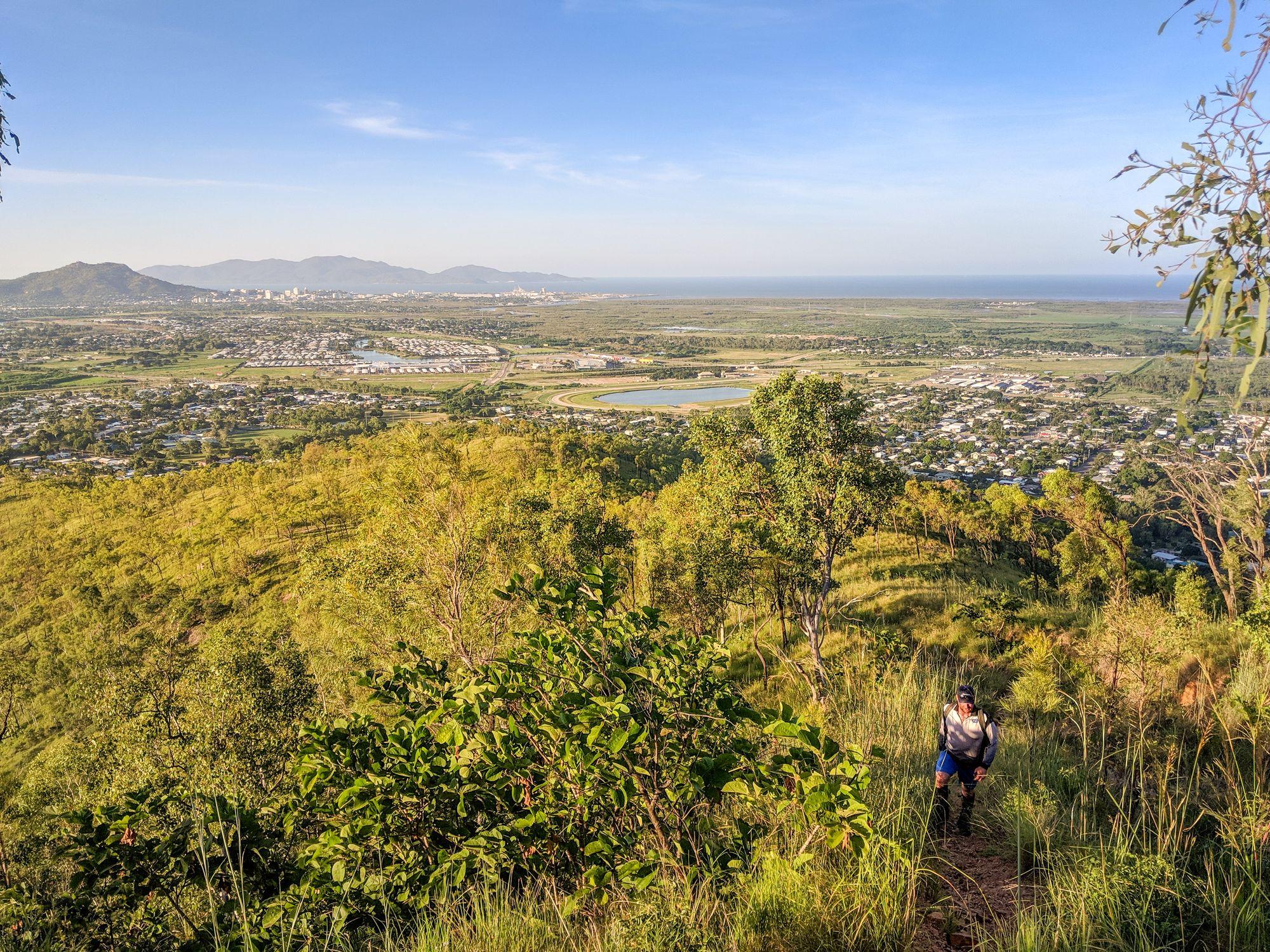Wulguru Hills trail views