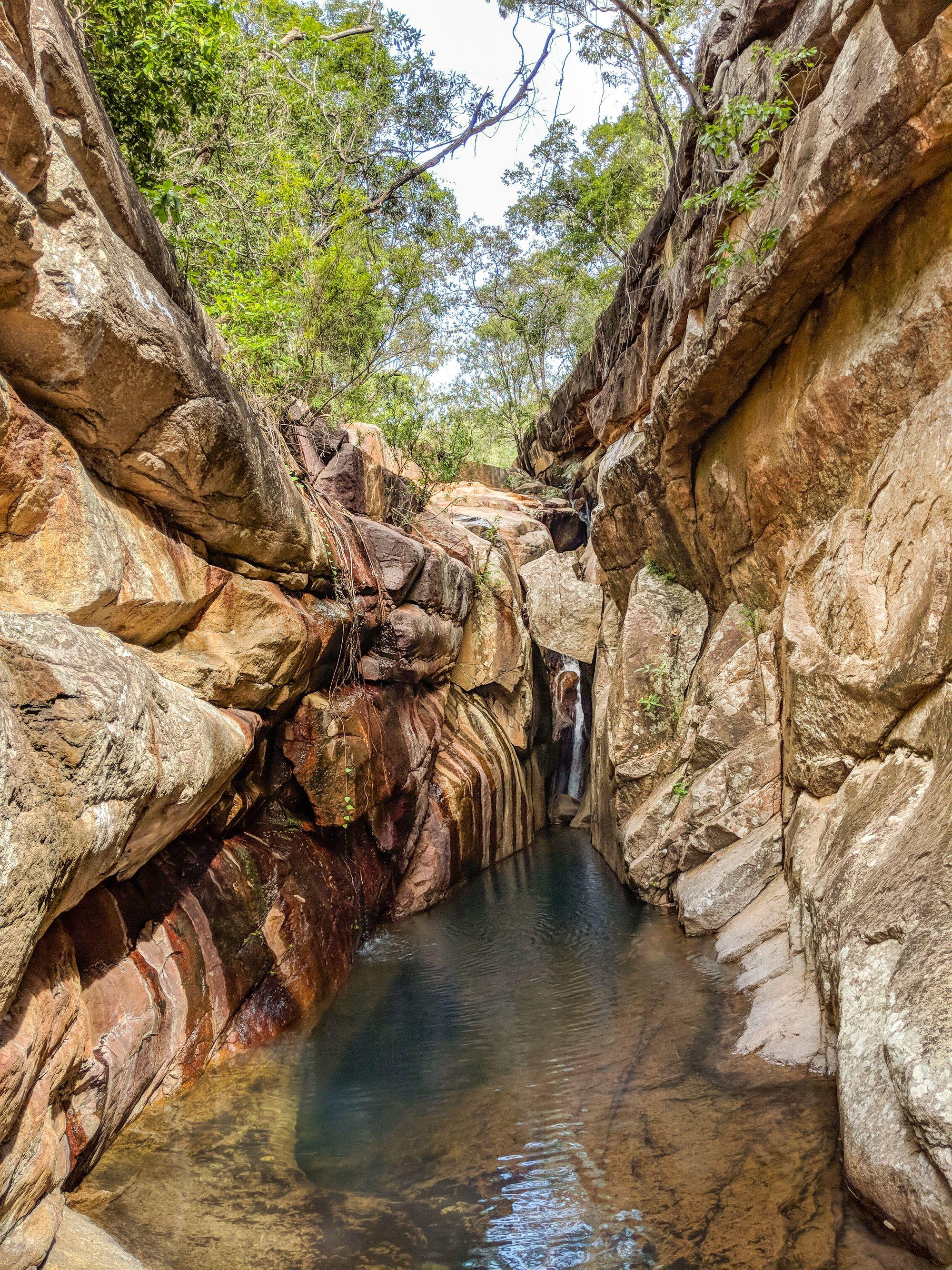 walkers creek gorge slot
