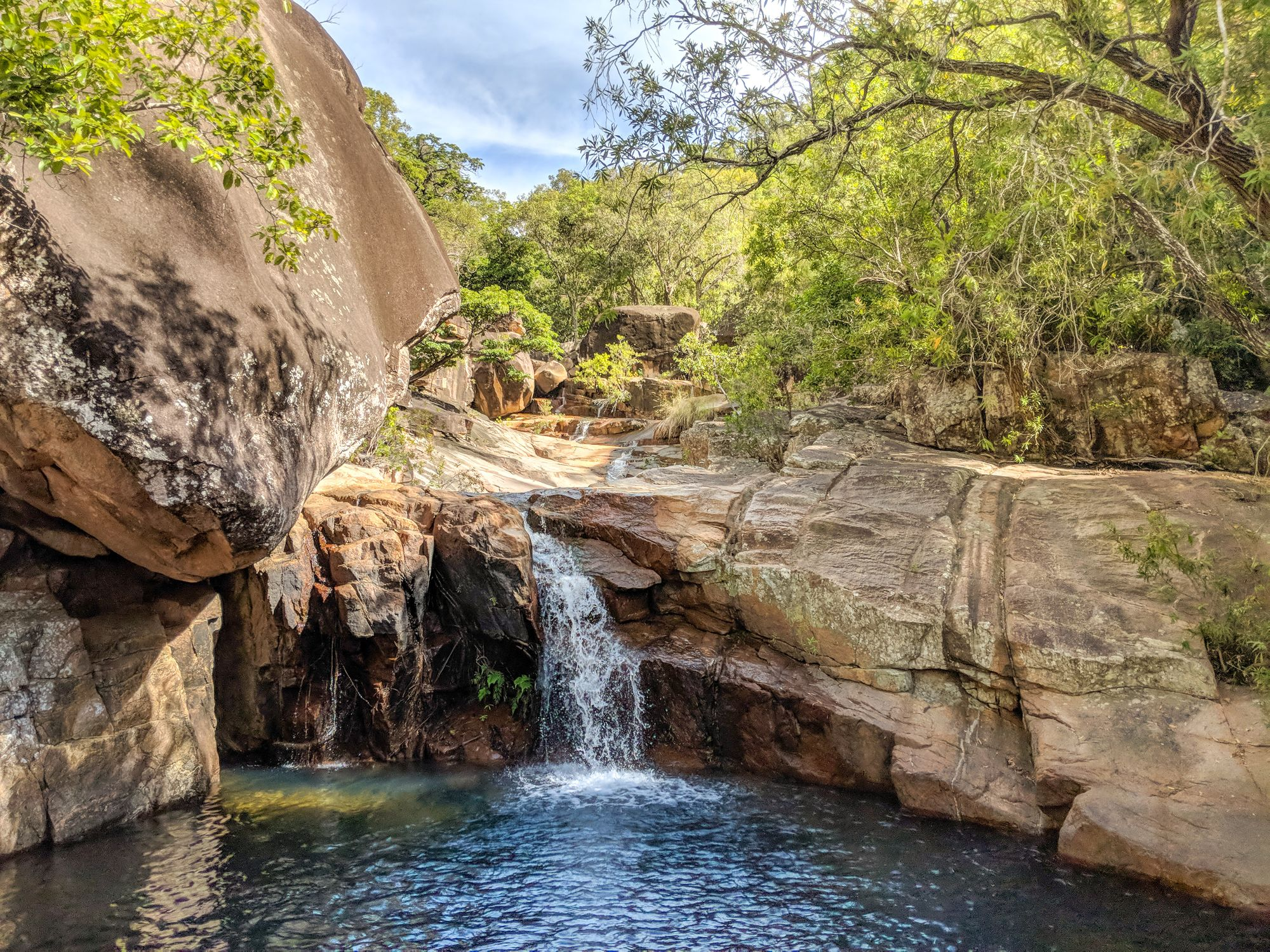 walkers creek swimming hole