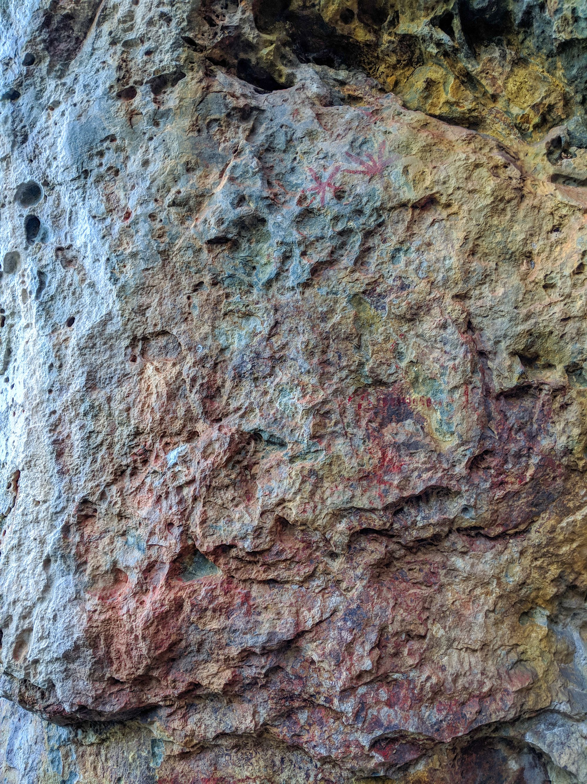 frederick peak aboriginal rock art 1