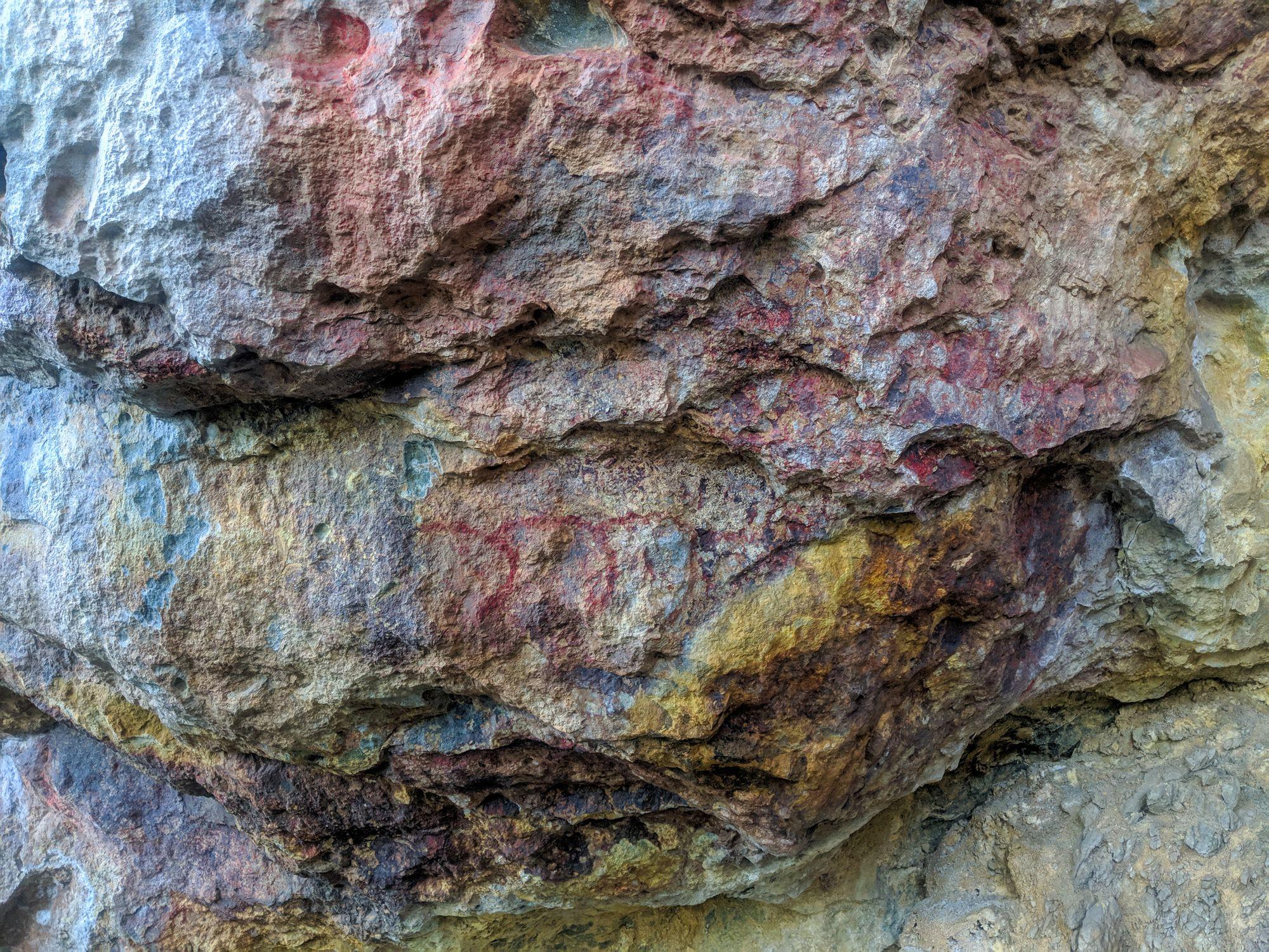 frederick peak aboriginal rock art 2