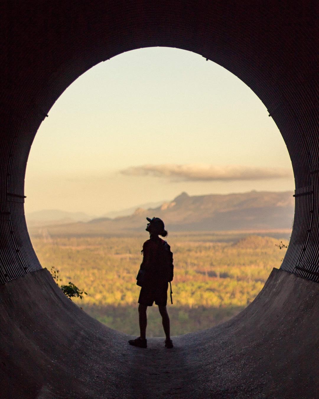 Hervey Range drain tunnel