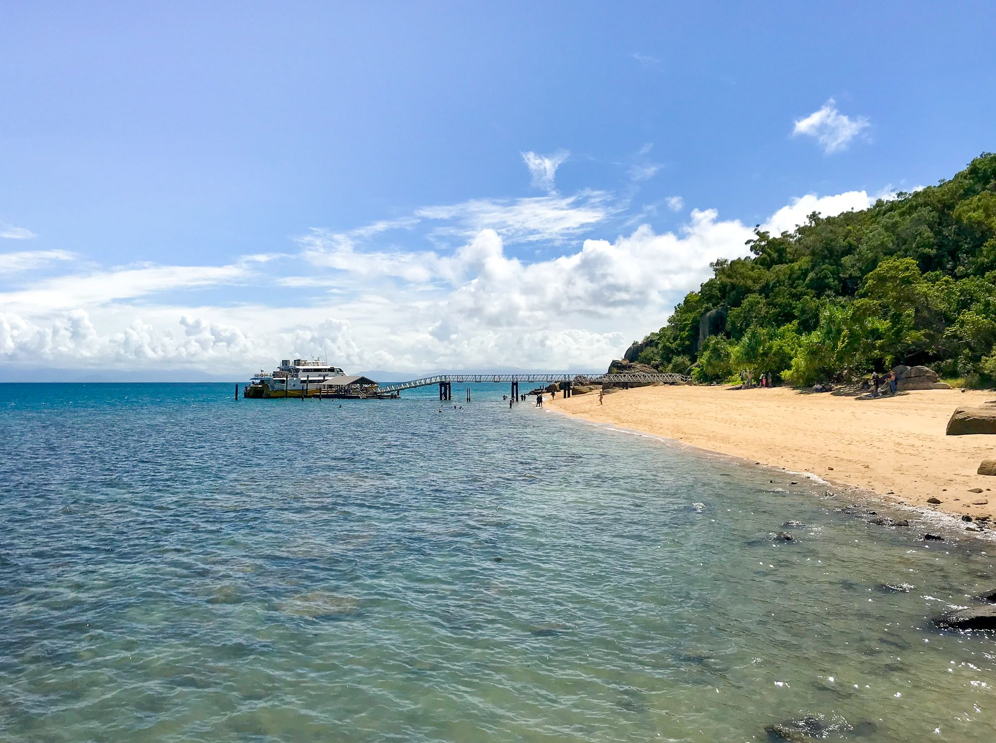 Yank's Jetty, Orpheus Island