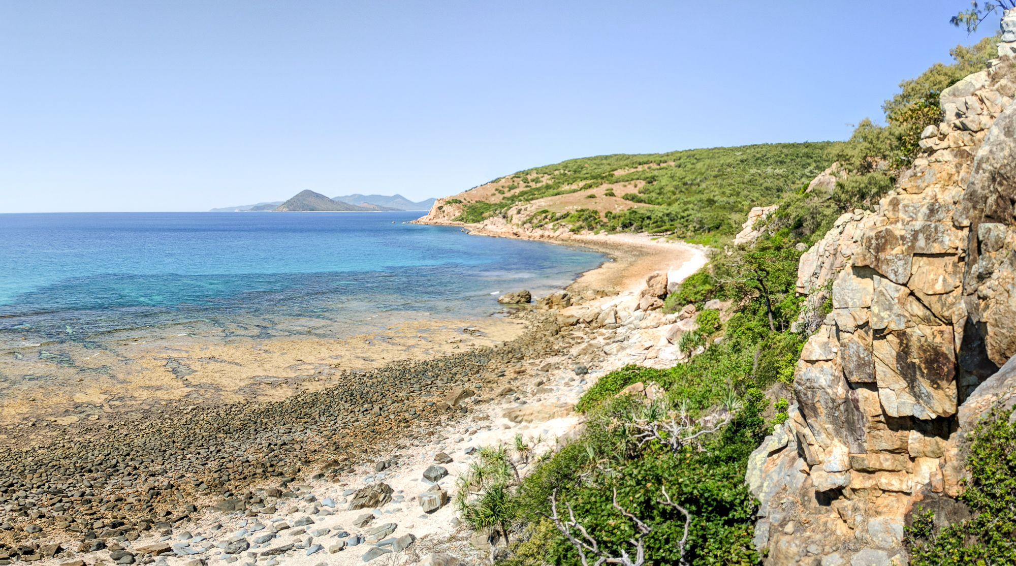 Orpheus Island coastline