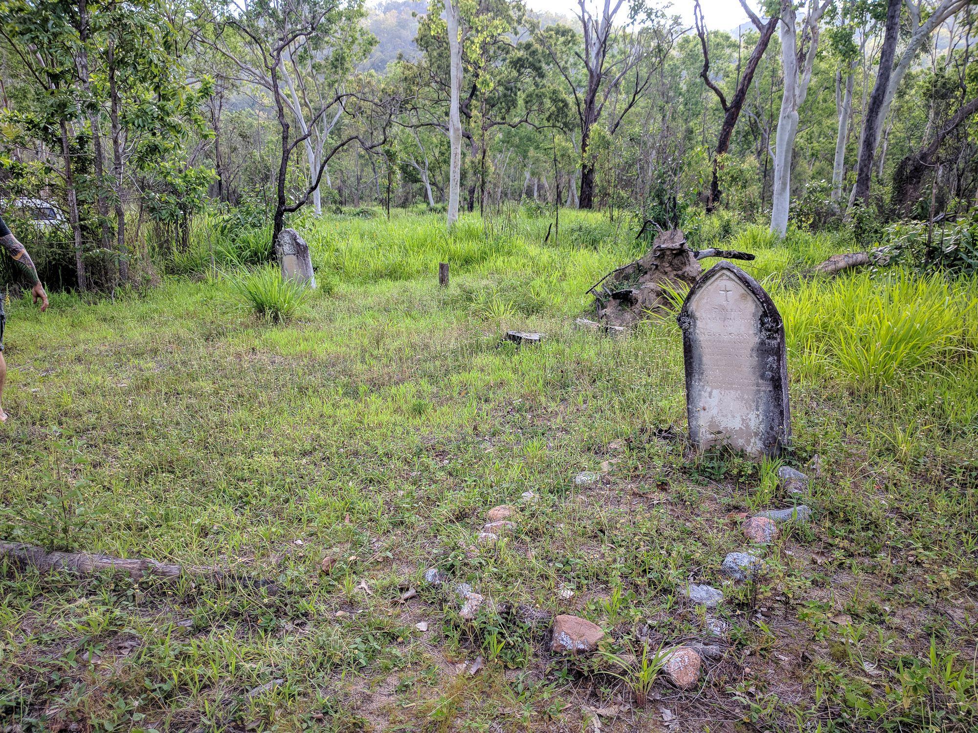 Oldest grave in Townsville near Hervey Range
