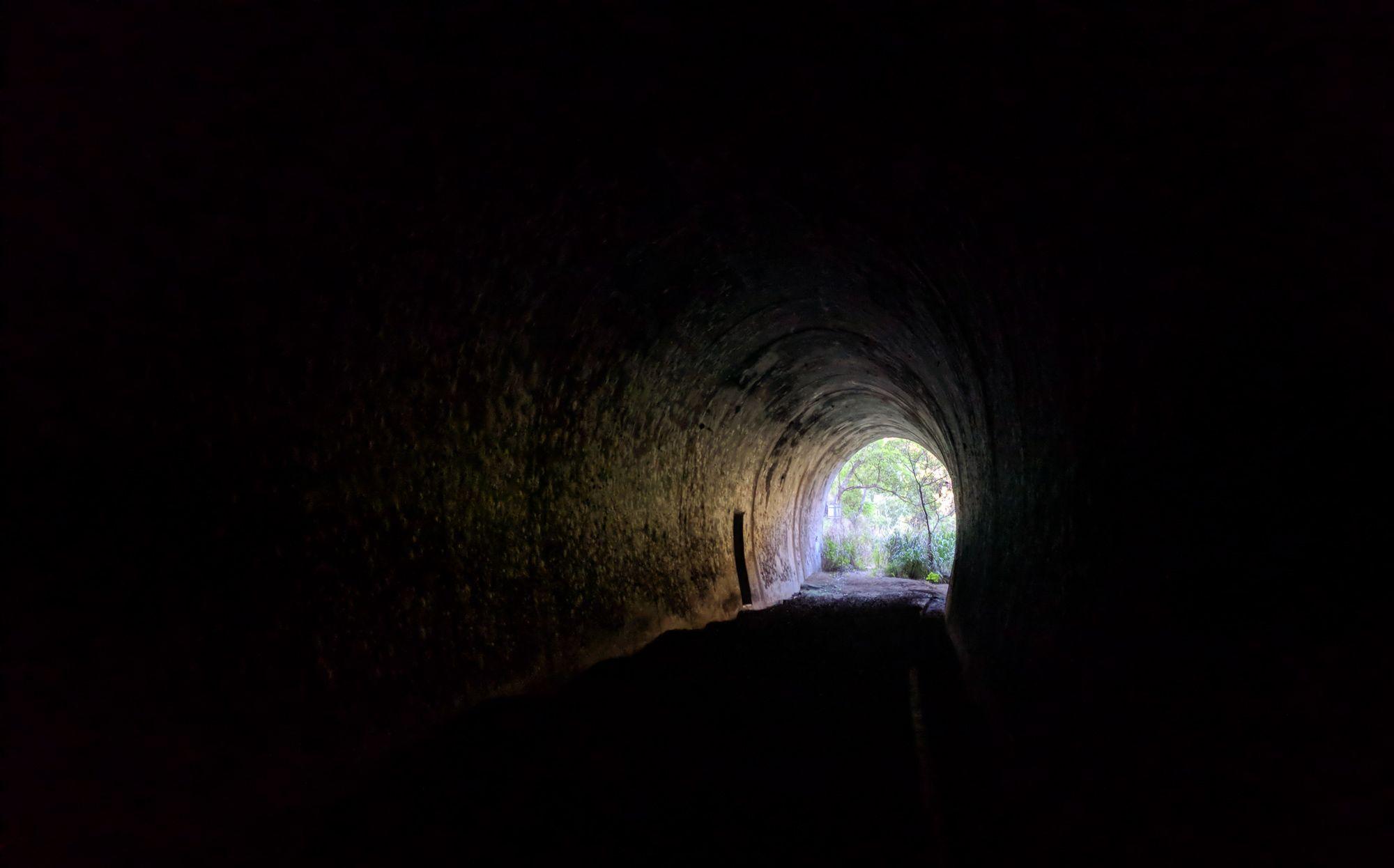 Hervey Range Tunnel Greenvale rail line