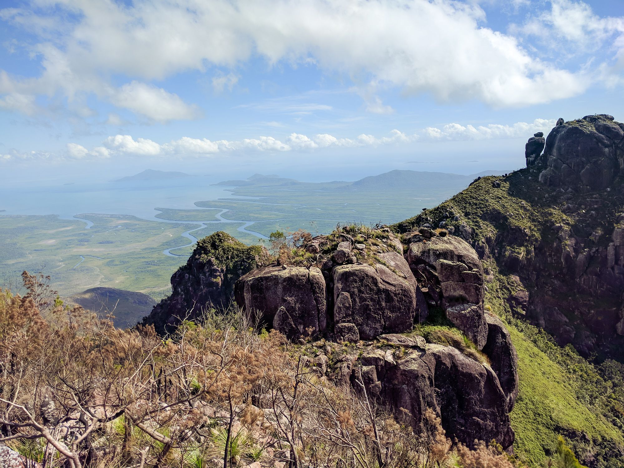 Mt Bowen ridge Hinchinbrook Island