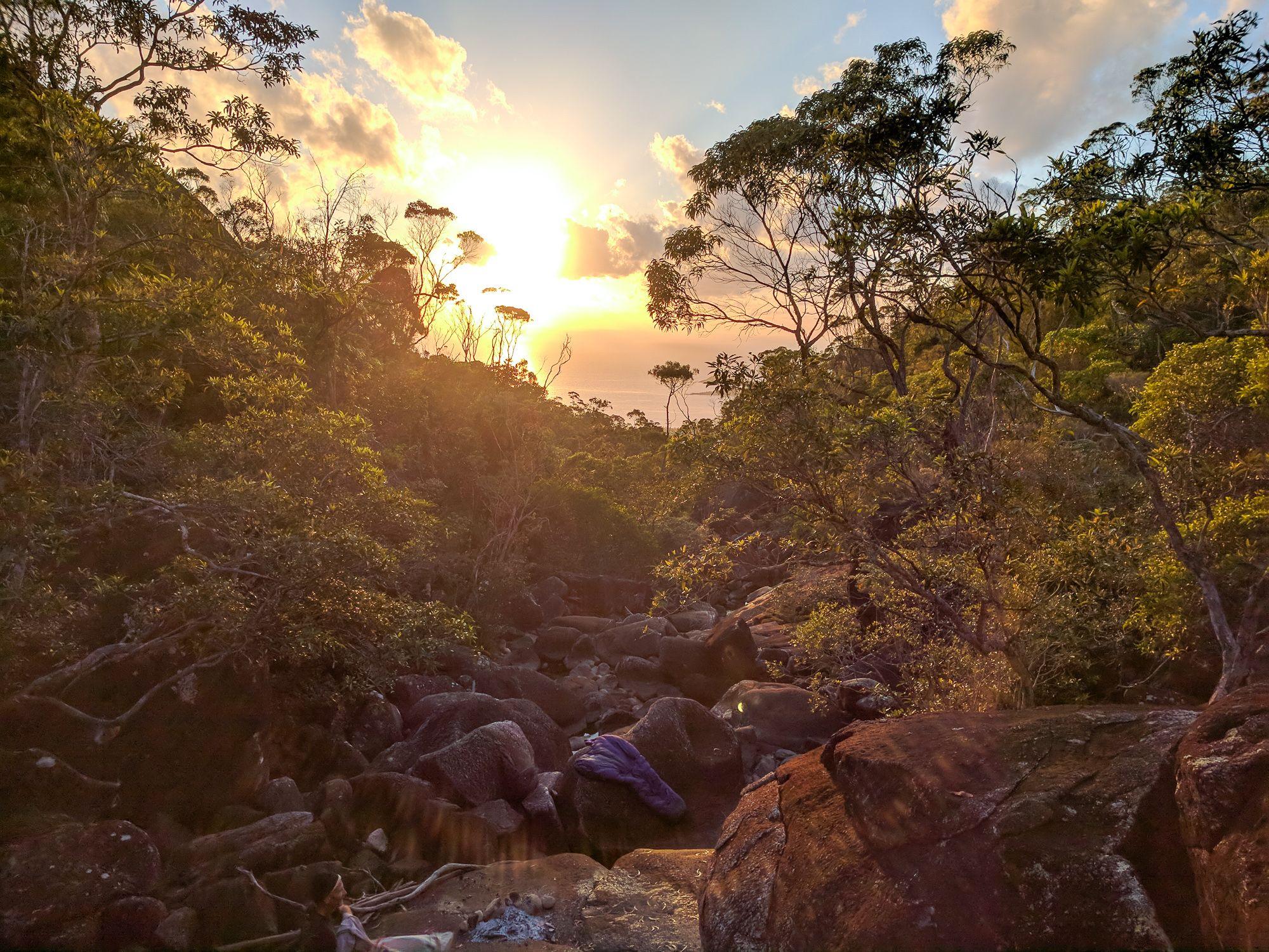 Warrawilla Creek sunset