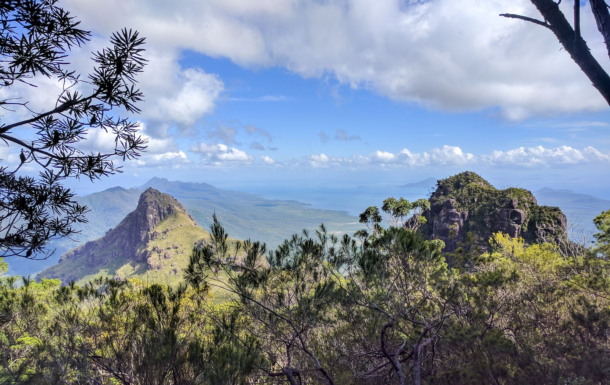 West Peak Ridge Hinchinbrook Island