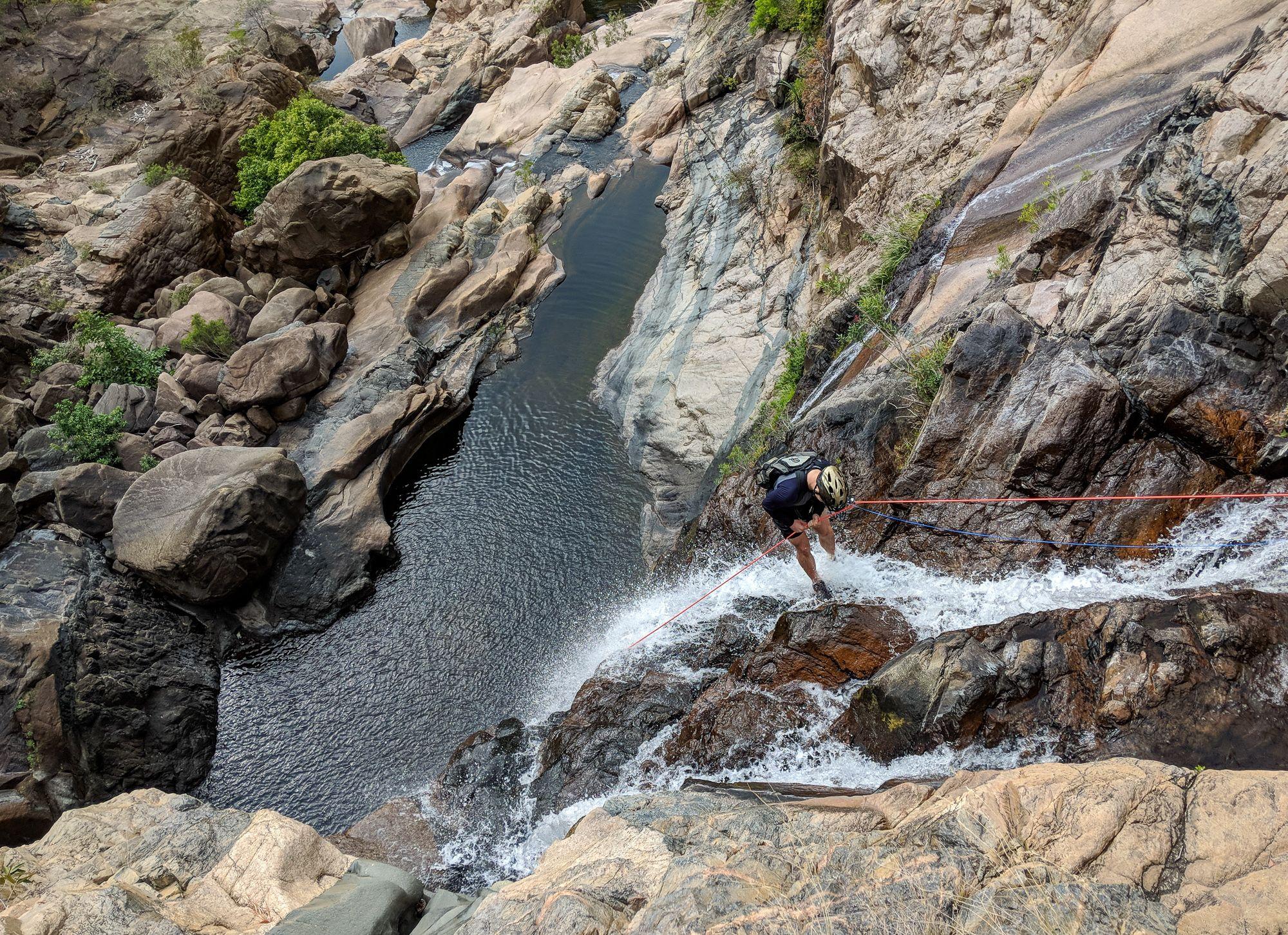 Jourama Falls Rappel 6