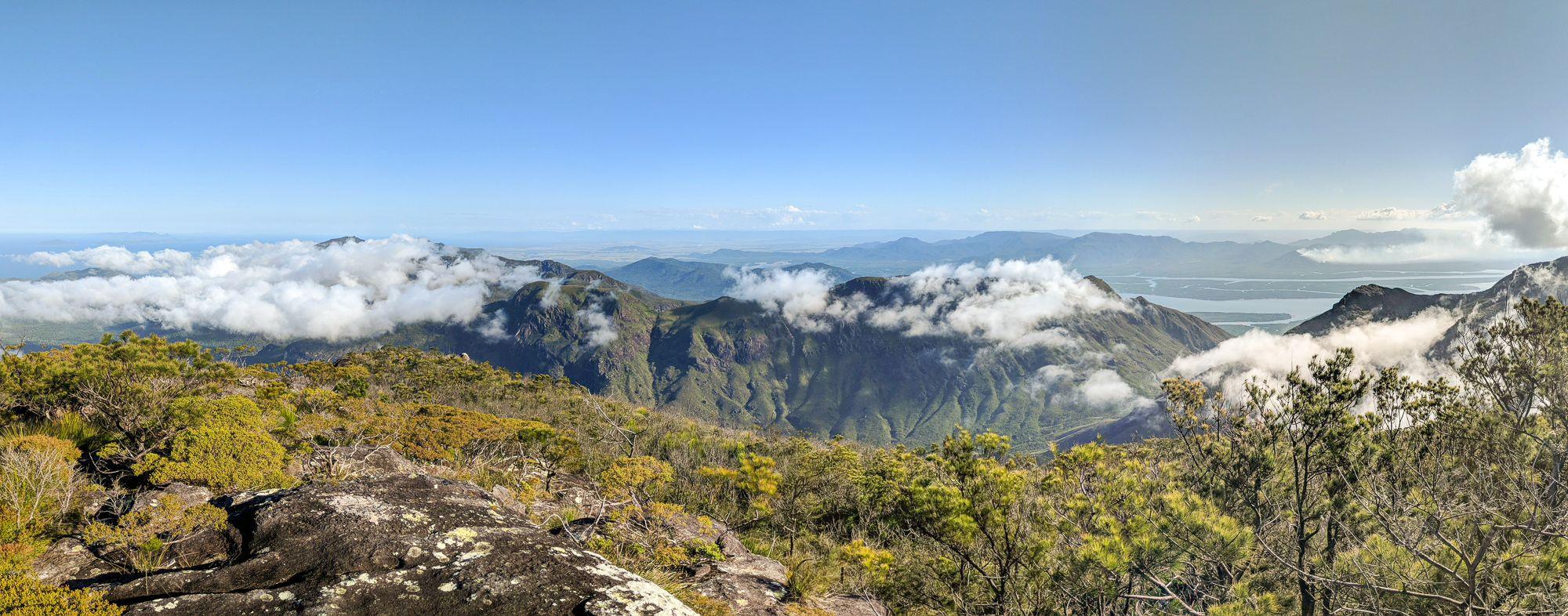 Views from Mount Bowen, Hinchinbrook Island