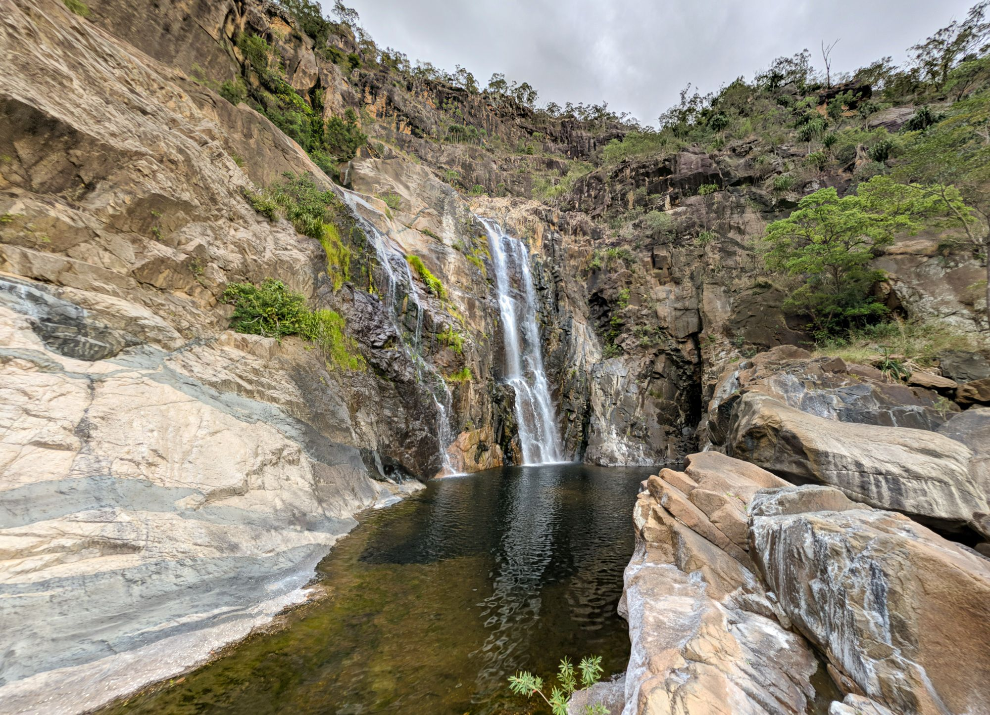 Rappel 6 pool Jourama Falls