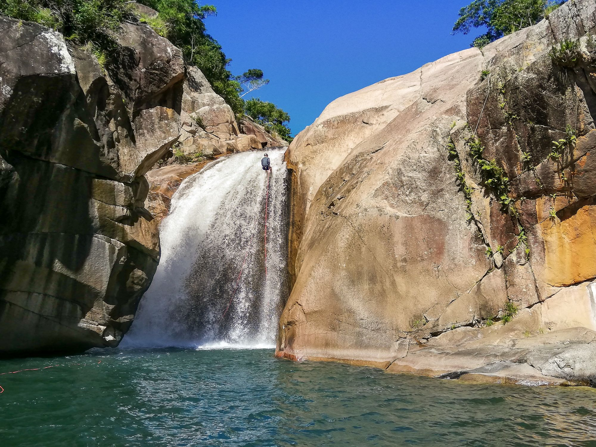 Jourama Falls rappel 1