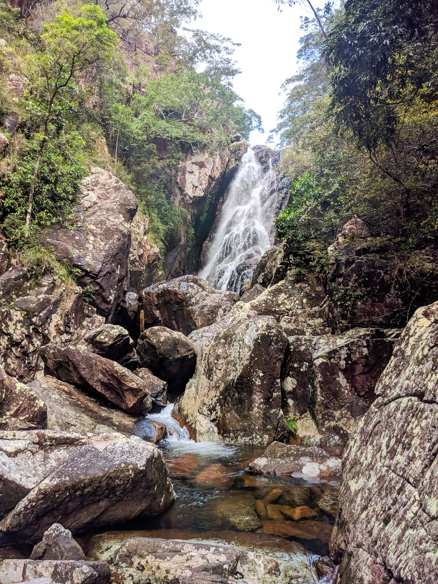 Small ollera creek falls